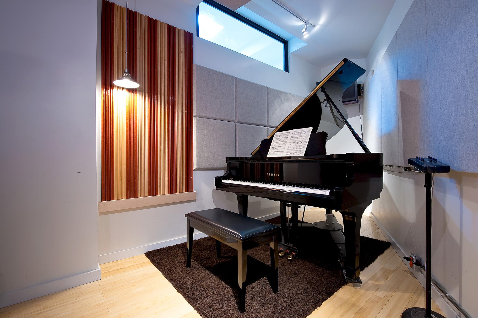 Main Floor piano