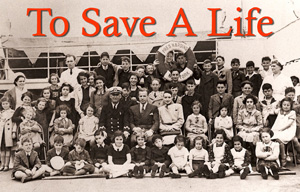 """Journalist  Steve Pressman  was working on his documentary, """"To Save a Life."""" The film tells the story of Gilbert and Eleanor Kraus, a Jewish couple from Philadelphia who traveled to Nazi Germany in 1939 and, with the help of the B'rith Sholom fraternal organization, saved 50 Jewish children in Vienna from likely death in the Holocaust by finding them new homes in Philadelphia.  Peter Riegert  (  The Sopranos,  M.A.S.H.  ) performed narration."""