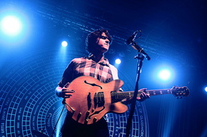 Jason Marcucci and Mike Judeh tracked   Vampire Weekend   for an  iTunes Exclusive  six-song EP with producer  Suzanne Varney  .