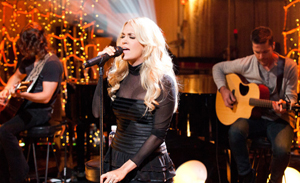 For VH1 Unplugged, the crew recorded British singer/songwriter    Rita Ora    , the Ohio indy rockers    Walk the Moon    , and country superstar    Carrie Underwood    . The subsequent broadcasts are viewable at    VH1    .