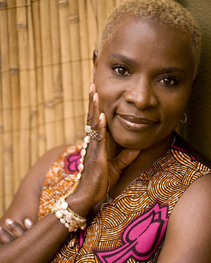 """Grammy Awardwinning Beninoise singer-songwriter and activist,    Angélique Kidjo    worked on some recording for the new documentary """" Fifty Years of Folk: The History of the Newport Folk Festival. """" Naka Production's documentary showcases the 50 Year Anniversary of the historic festival."""