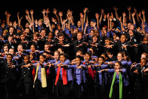 """And kudos also to    Fransisco Núñez  , Artistic Director and Founder of the  Young People's Chorus of New York City  , for his receipt of 2011 MacArthur """"Genius"""" Fellowship. Francisco and his chorus were recently returned to Dubway, recording a piece by Francisco and NYC composer  Jim Papoulis  ."""