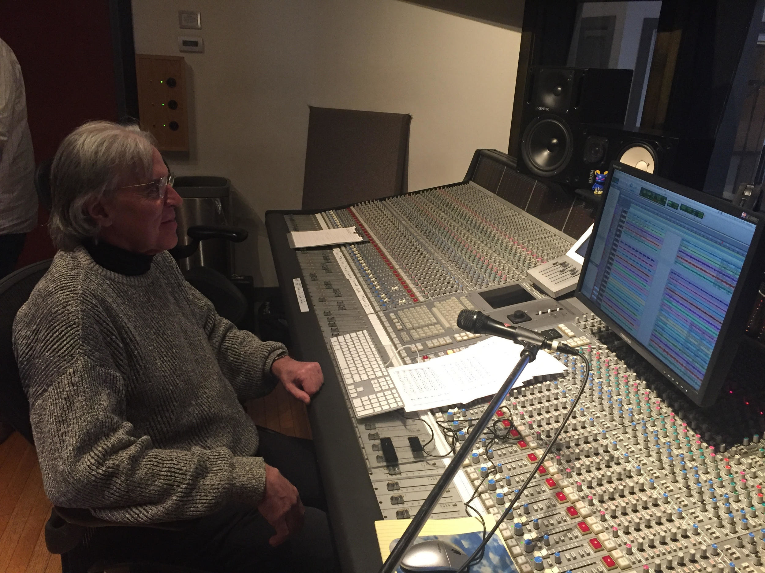 Michael Riesman in our Mezzanine Studio