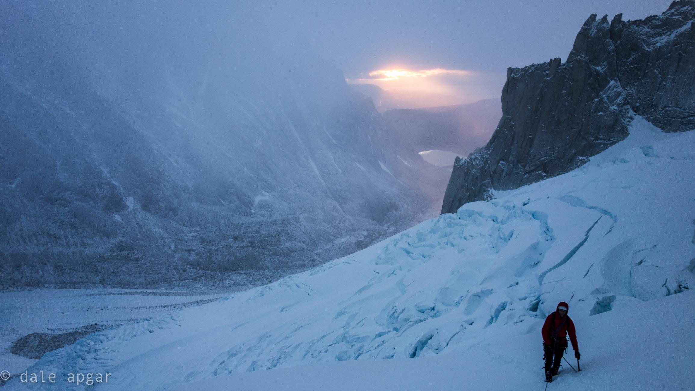 Crevasse danger behind us, avalanche threat ahead