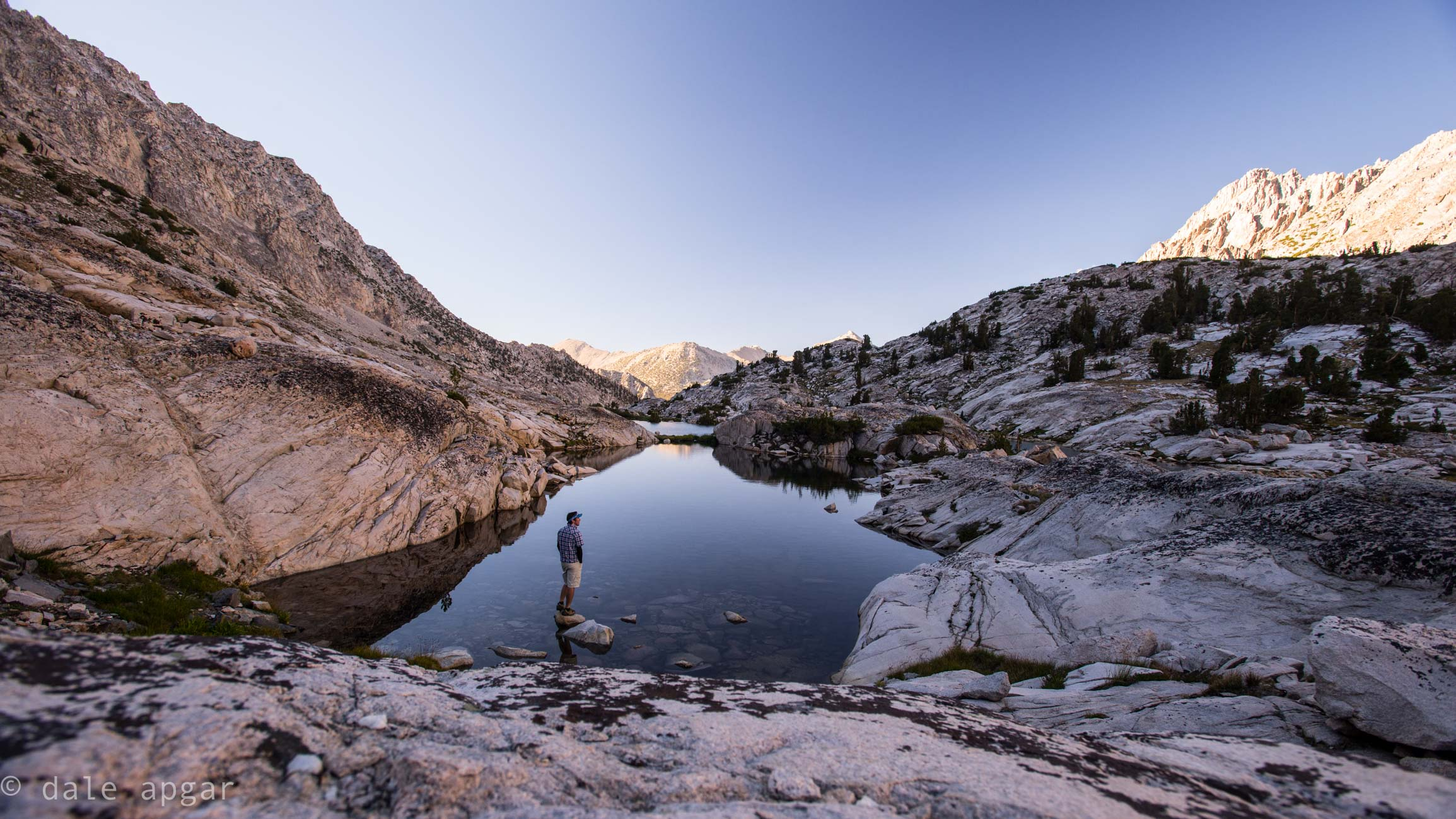 The most pristine terrain I've experienced in the Sierra: didn't see foot print nor trail for miles: Vidette Lakes