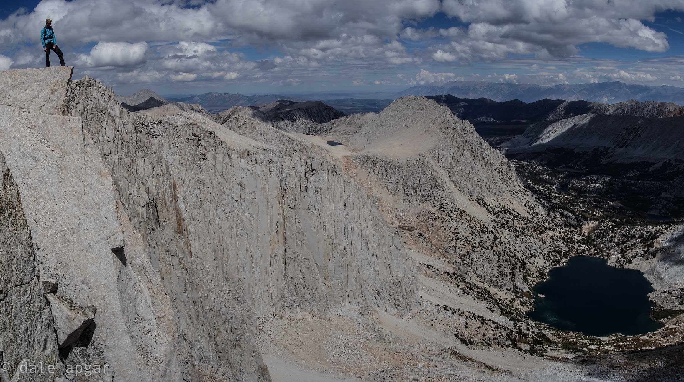 Atop the Ruby Wall in the Eastern Sierra