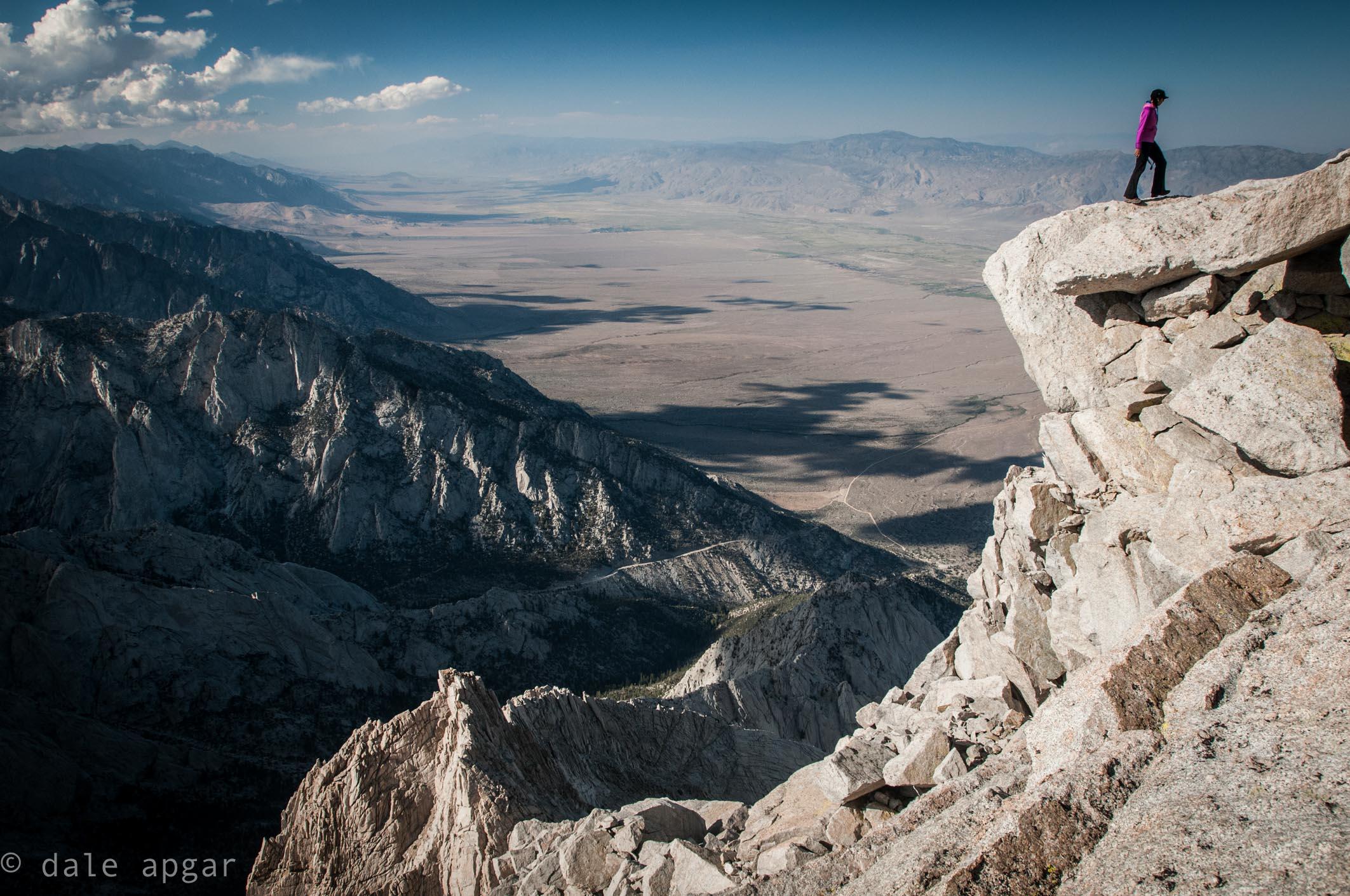 Summit of Lone Pine Peak