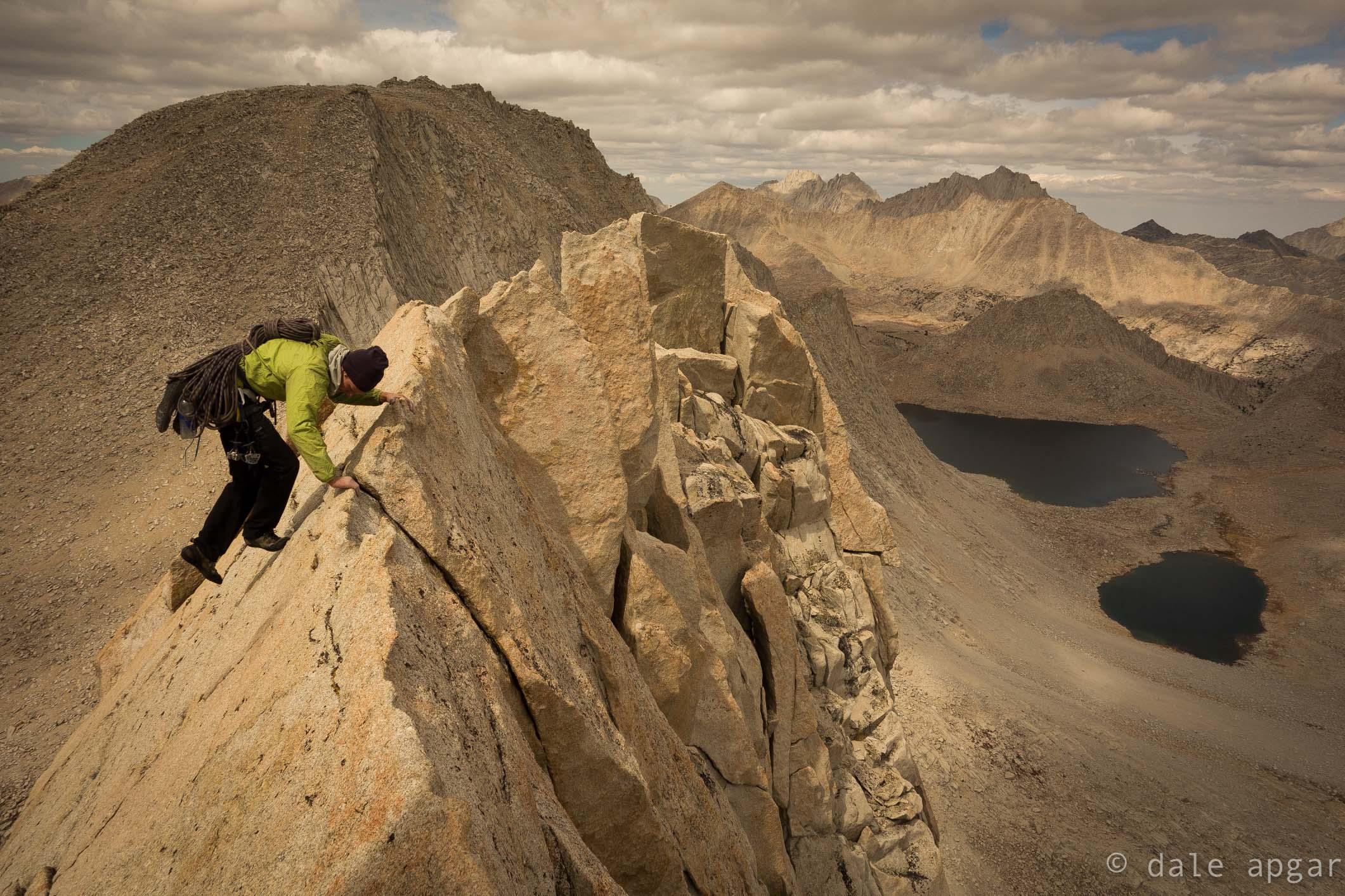 Scrambling the last of Merriam's North Ridge