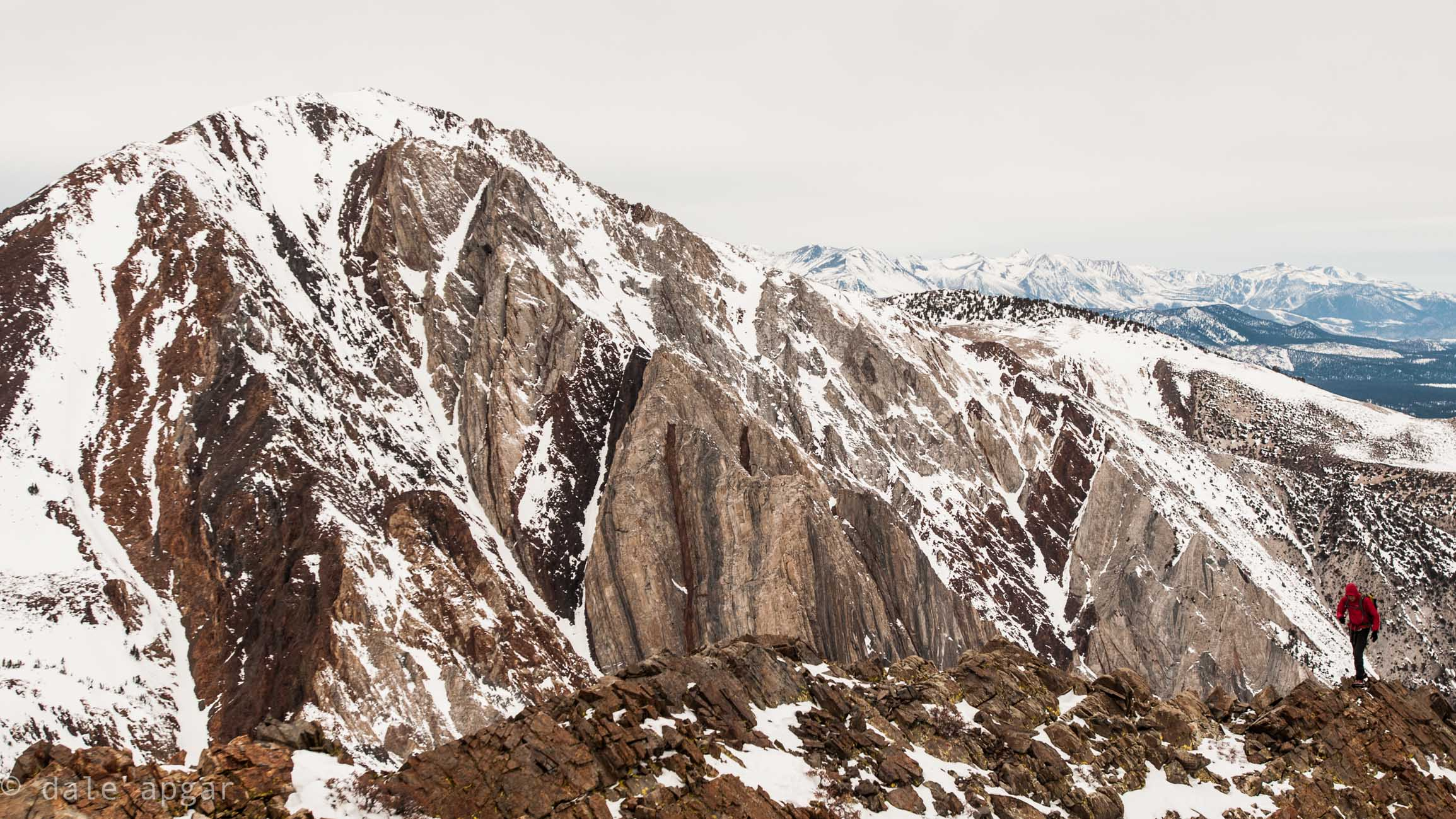 Kicking off the start of Williamson's west ridge