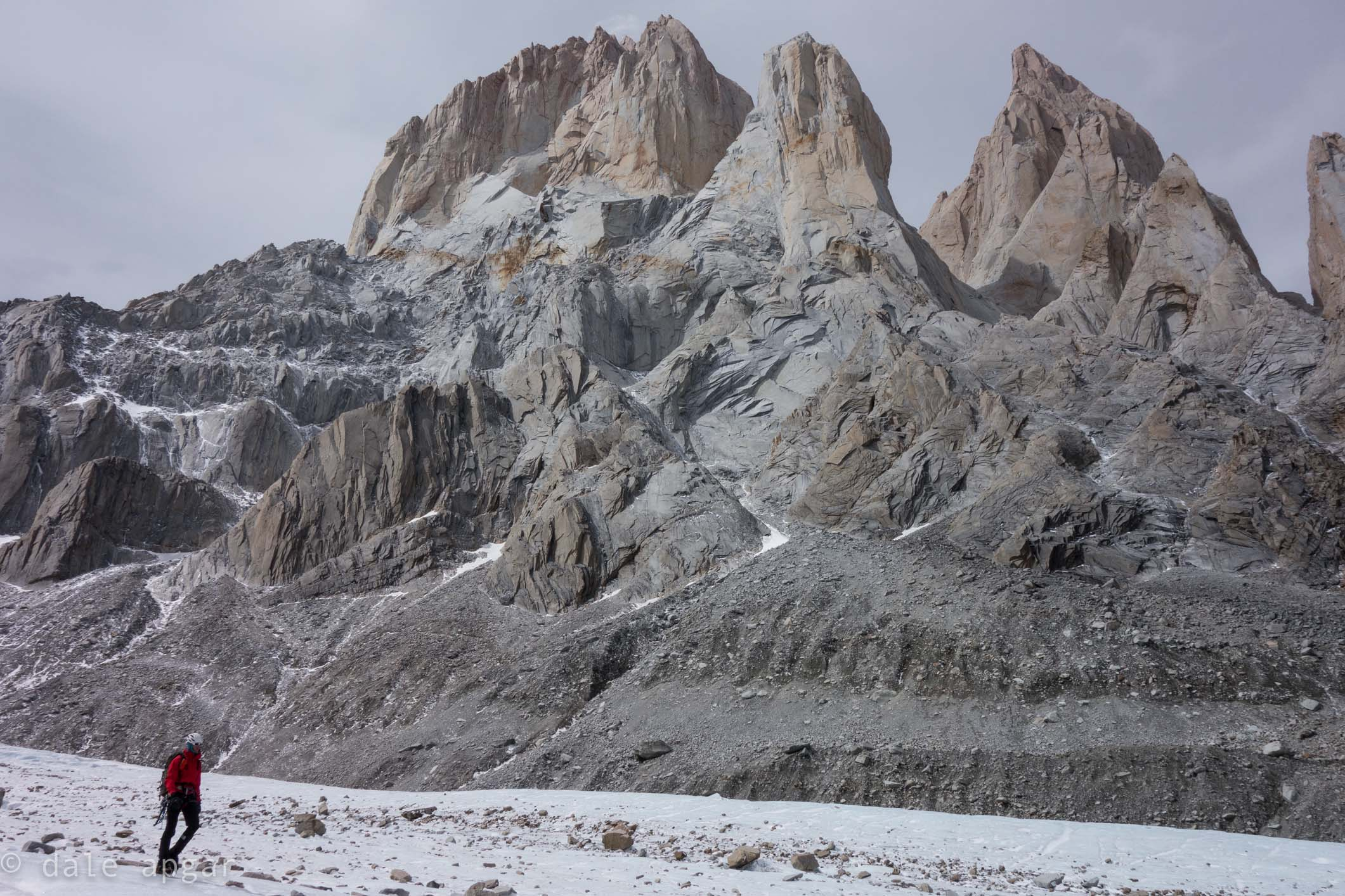 More imagery from the Torre Glacier