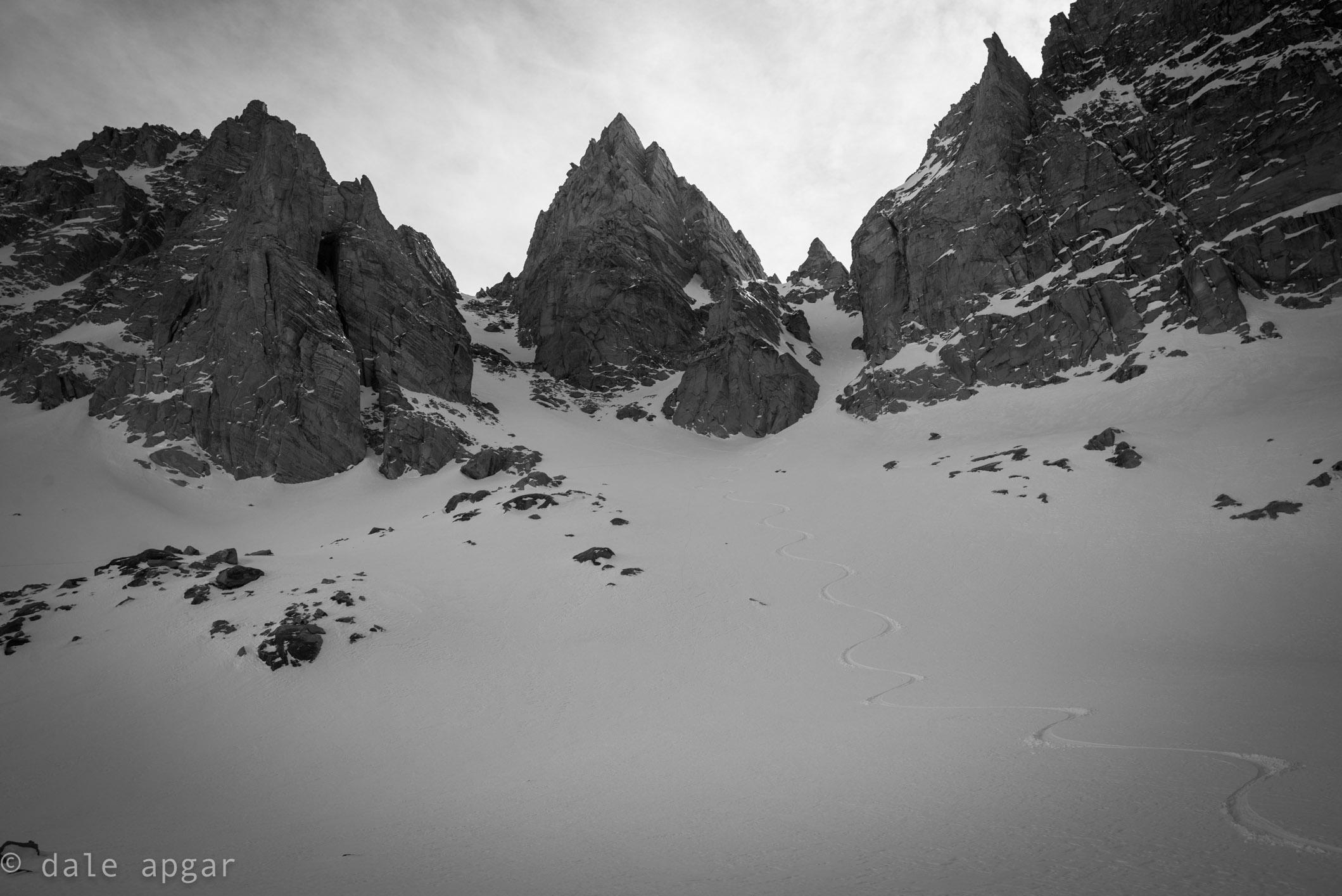 Late season turns on the Sierra's Matterhorn