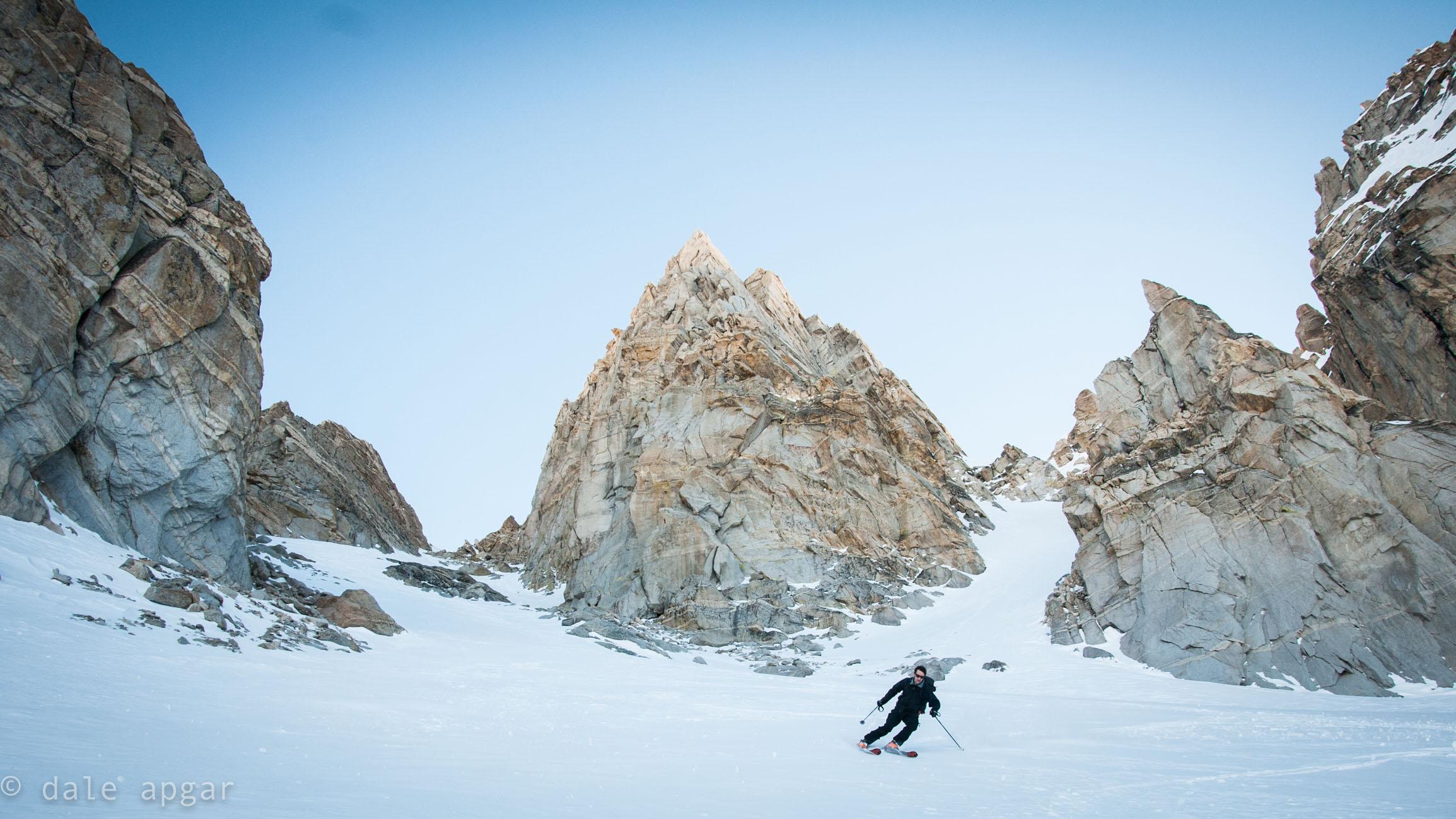 hatless and cloudless on the Matterhorn