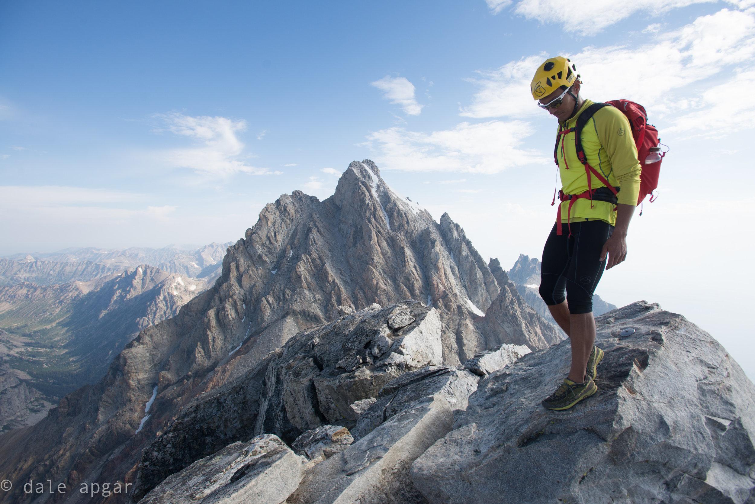 Jason atop Middle Teton