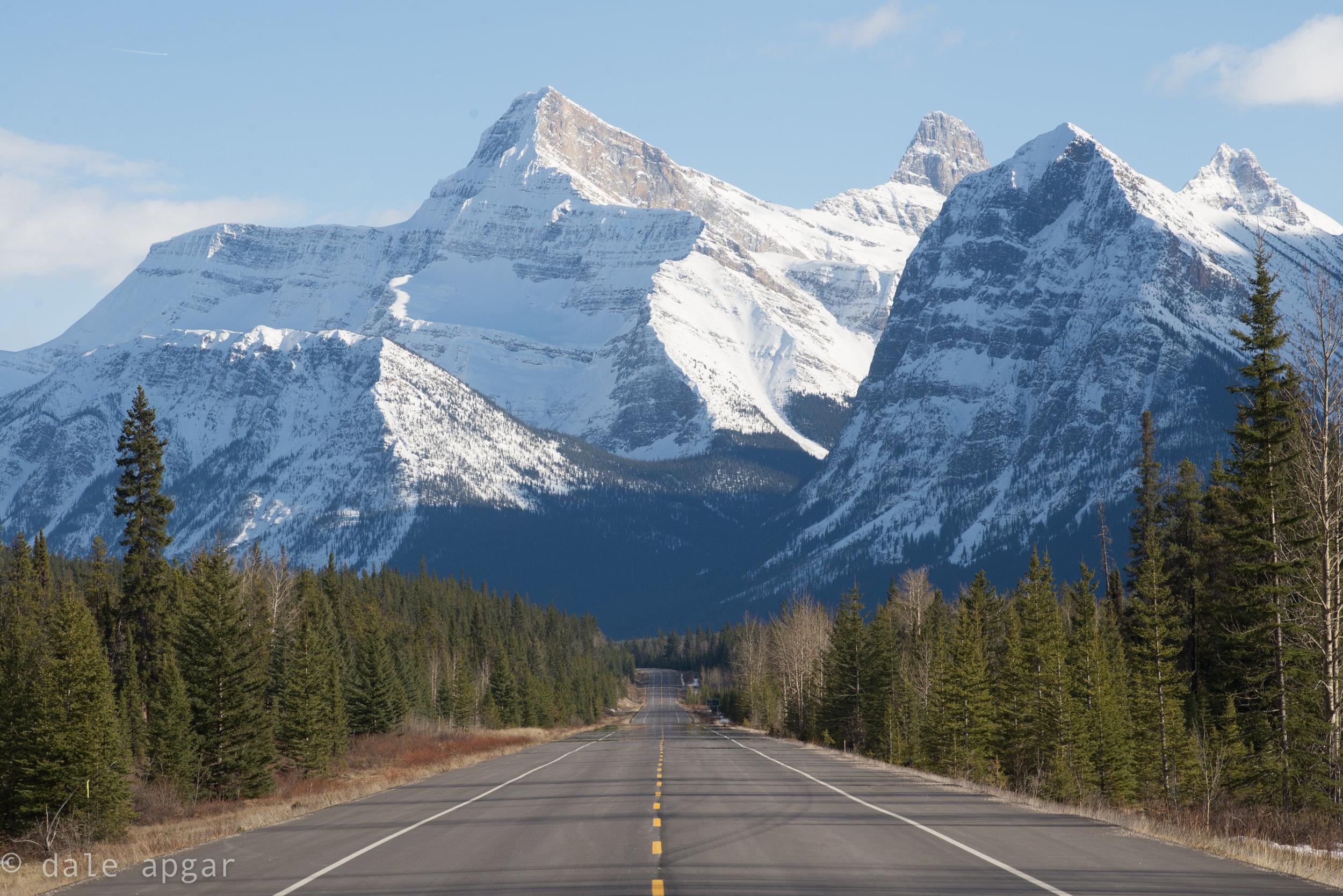 road trip views aren't so bad