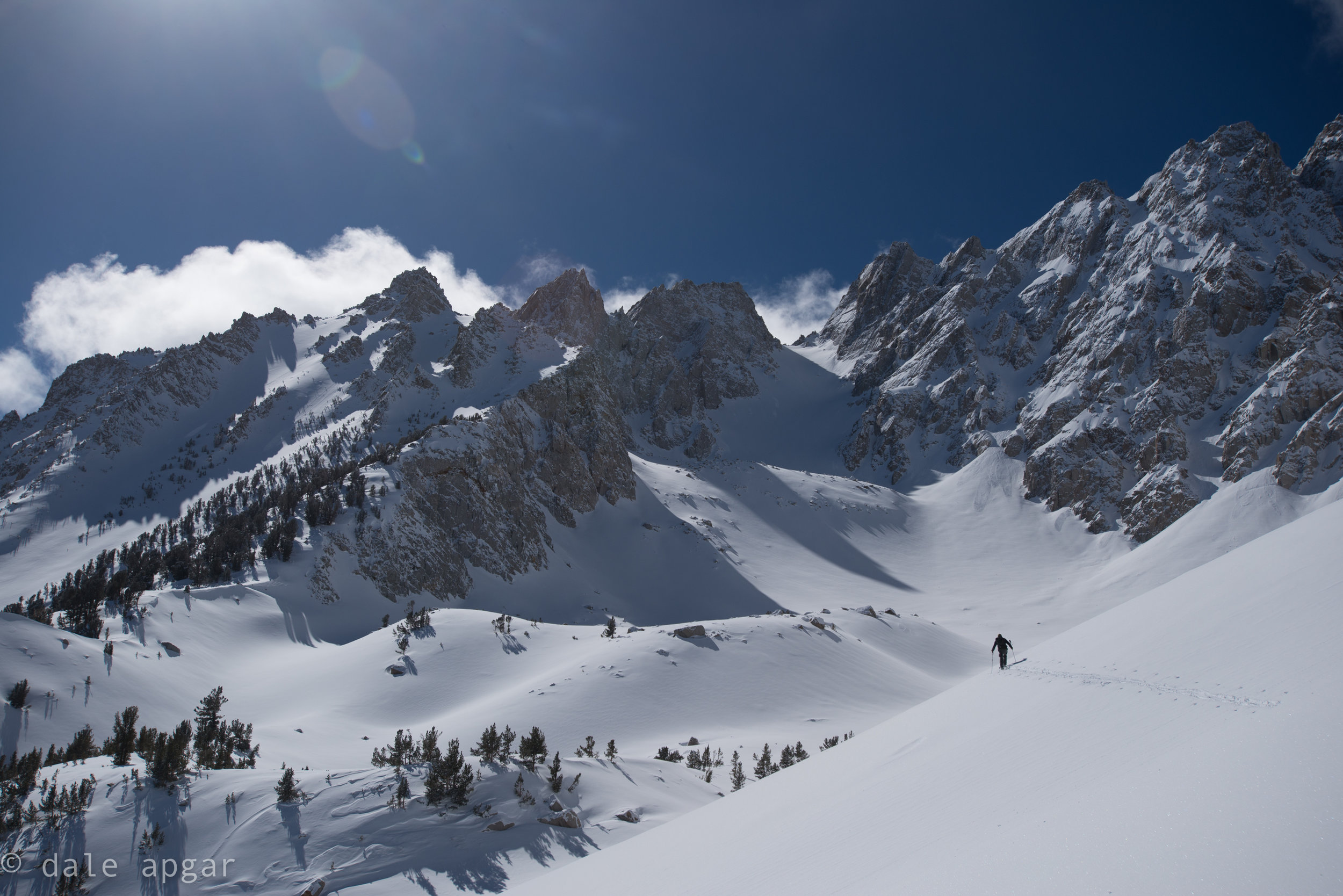 On the approach to Basin