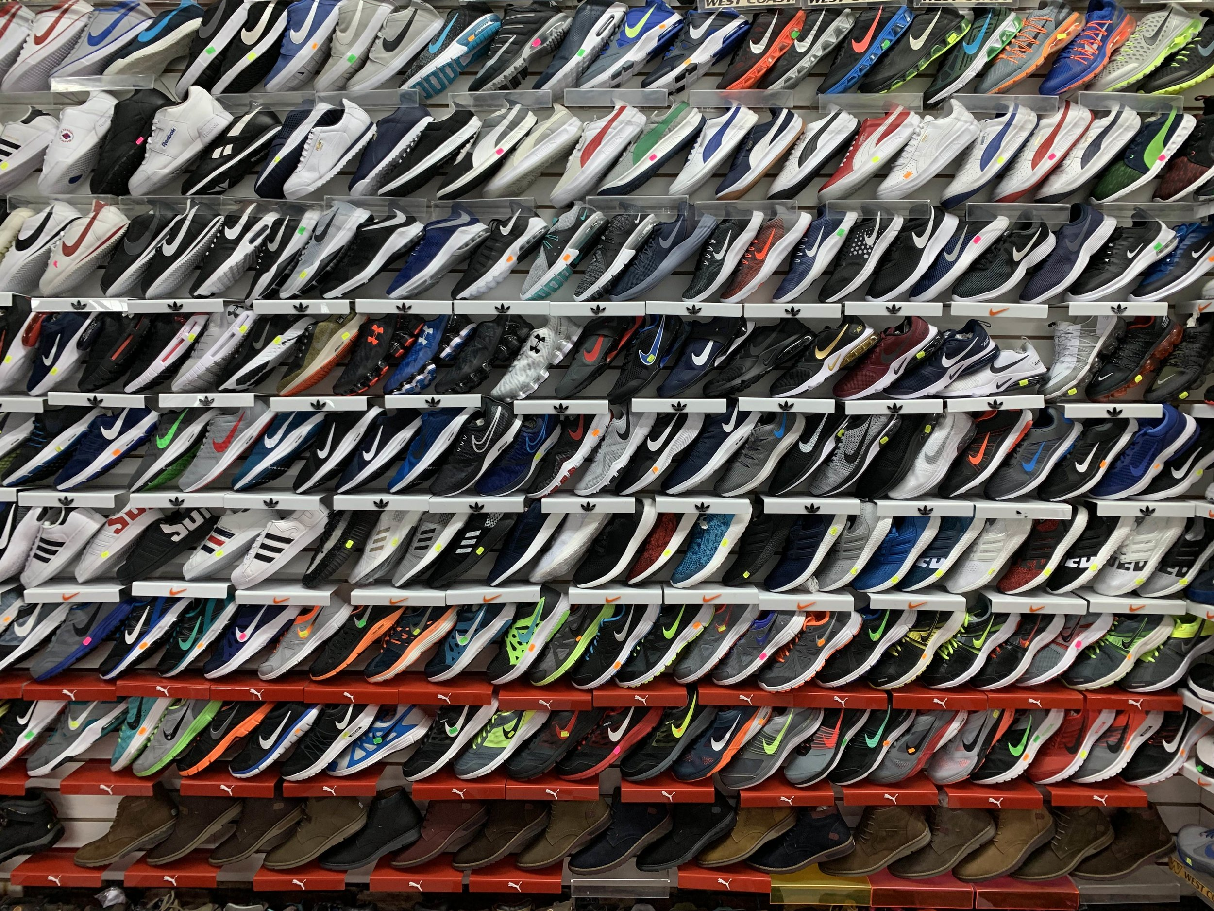 so many shoes you don't want