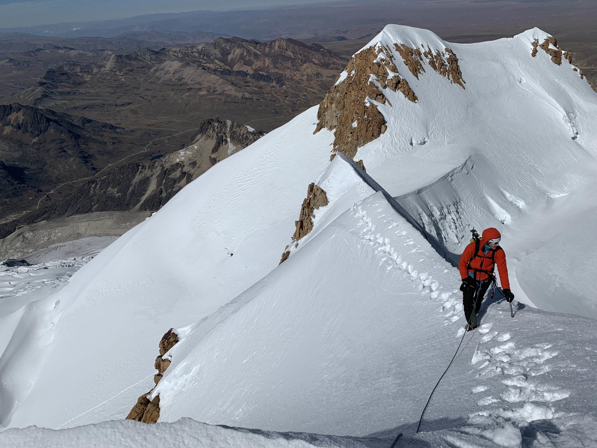 Finish off that summit ridge