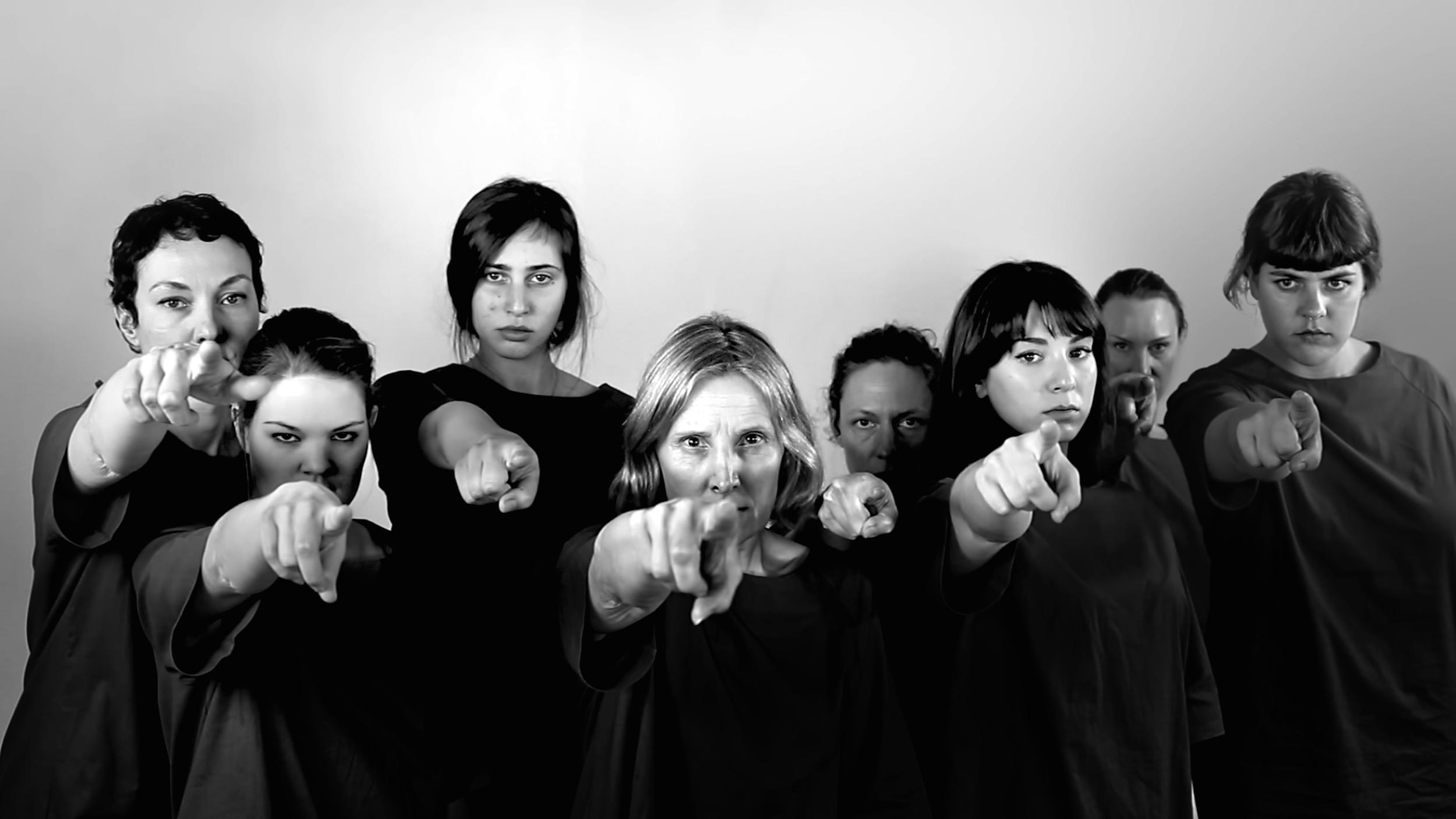 There is no there, 2015, video still. Black & white, HD, sound, 10 min    ©Gabriella Mangano Silvana Mangano