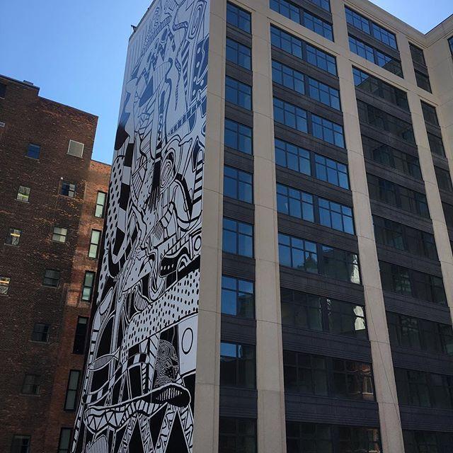 Killer new mural in #detroit.