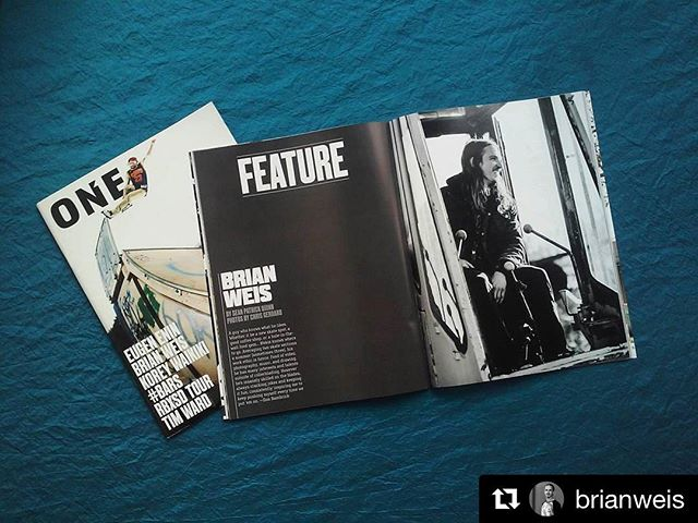 @oneblademag has a new edition out featuring the one & only @brianweis 🙌 . . . #detroitbearingco #oneblademag #teamdbc #rollerblading #rollerblader #aggressiveinline #detroit #blade