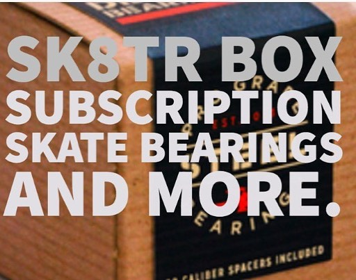 It's here. SK8R Box: A 12 MONTH SKATE BEARING SUBSCRIPTION We get it. It's a pain in the ass to go to the skate shop every few weeks and replace your bearings. So we figured that if you could get a set in the mail every three months with some other cool stuff, you'd be into it.  With SK8R BOX, every three months you'll get: 🔥 One set of our Steel ABEC 9 bearings, with a set of our eight caliber spacers. 🔥 Detroit Bearing Co. stickers and swag. 🔥 One skate-related accessory (month 1 is a universal skate tool) Every three months you'll get all this stuff and it will be dope. You're welcome. (p.s. You're also saving like $12 bucks off the retail price if you bought four AND getting a free accessory. That's sick shiz). Hit the link in the bio to subscribe. . . . #skateboard #skate #skateboardingisfun #skateshop #skatergirl #skaters #skateboards #skaterboy #skateordie #skatepark #skateeverydamnday #skateanddestroy #skate4life