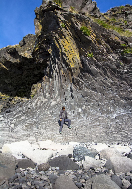 Crazy cliffs in Hellnar