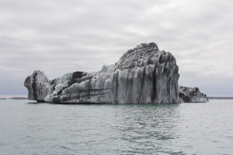 The iceberg before...