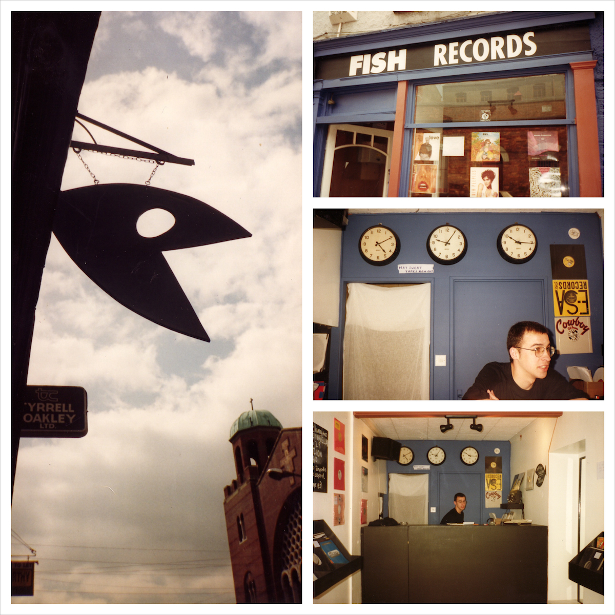 Fish Records, Liberty Street, Cork, 1995