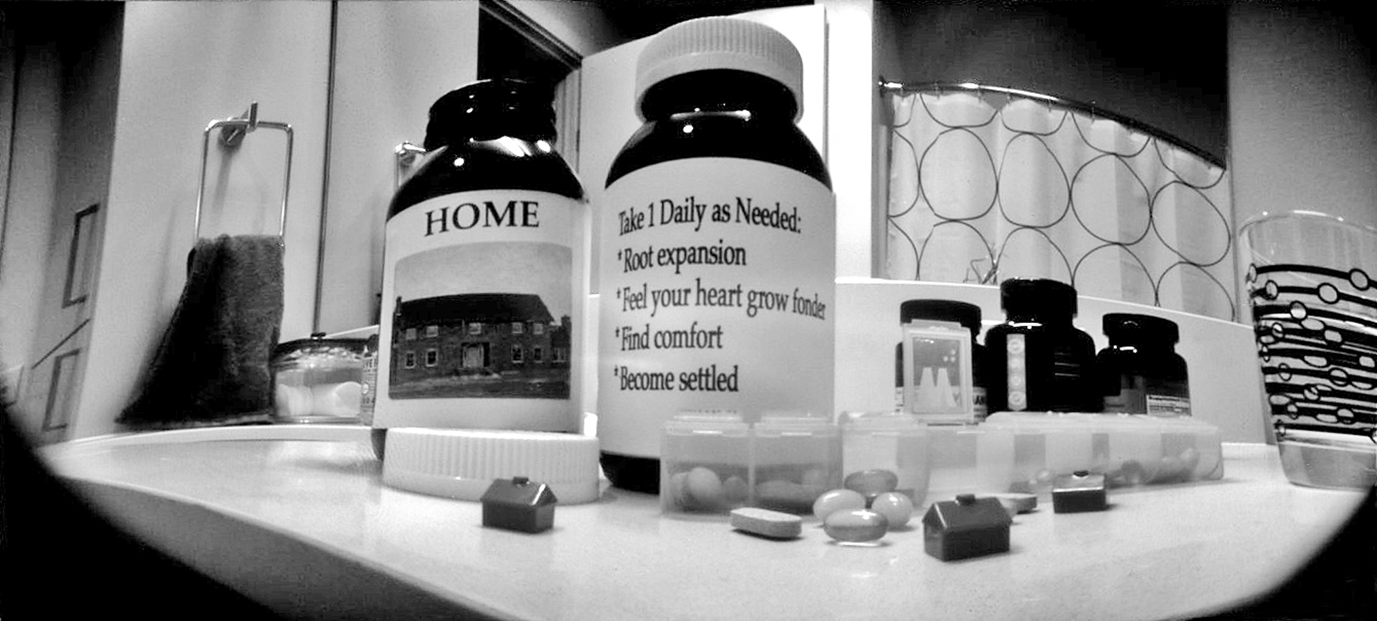 Daily Supplements Shot with The 25th on Ilford Matte photo paper 3 hour exposure