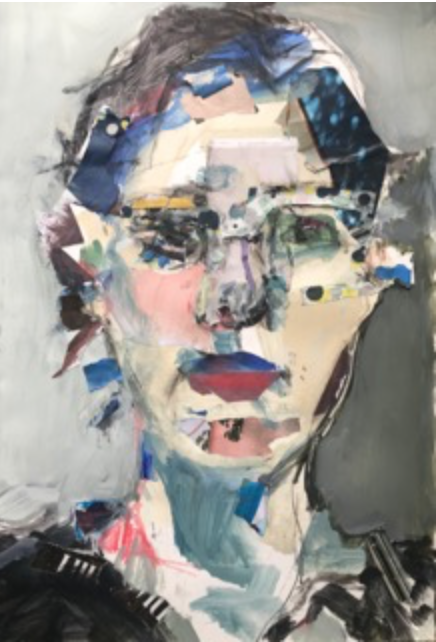 Self Portrait by Caryl Hull