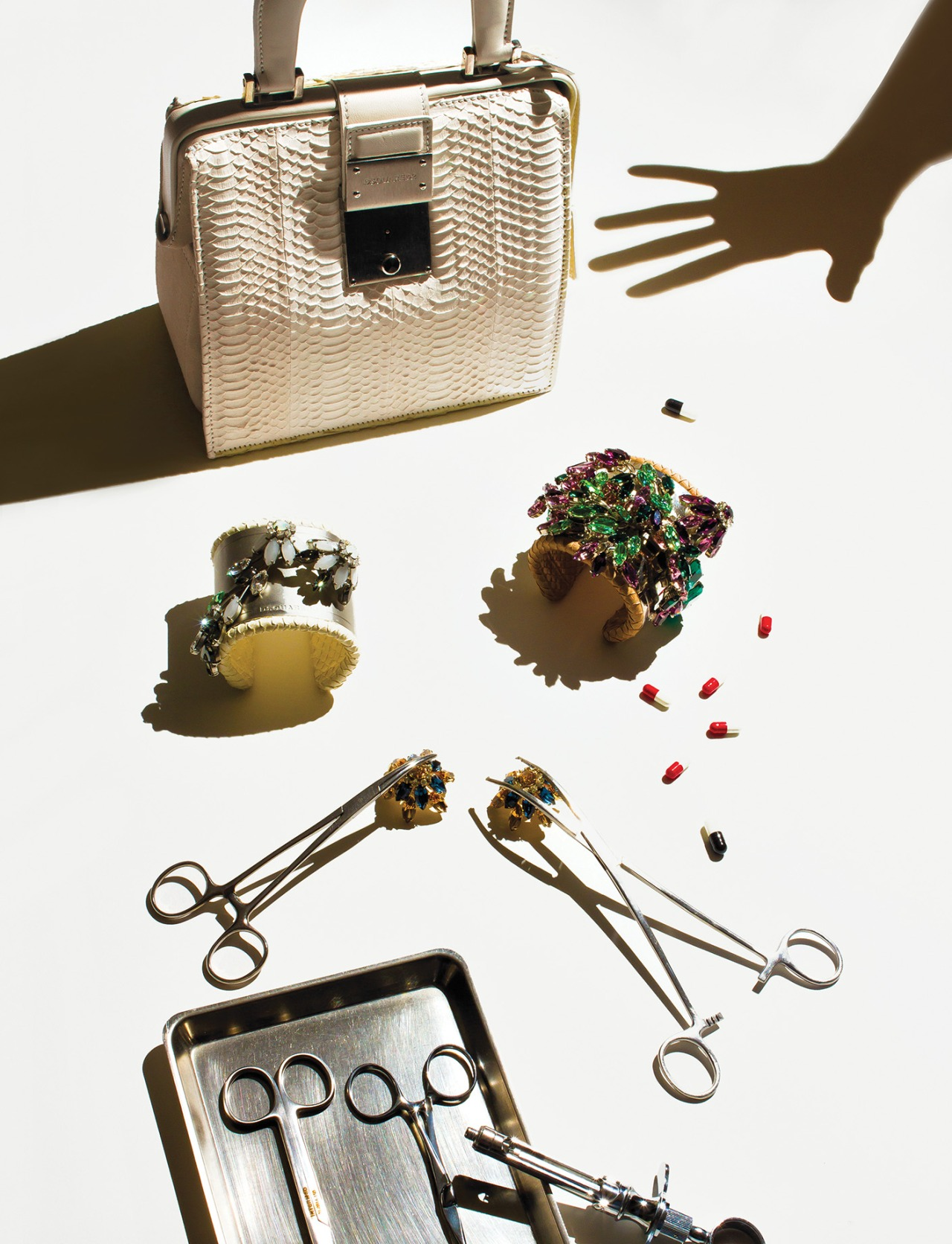 DSQUARED2 ACCESSORIES A/W 2014-15 FOR ELLE UK