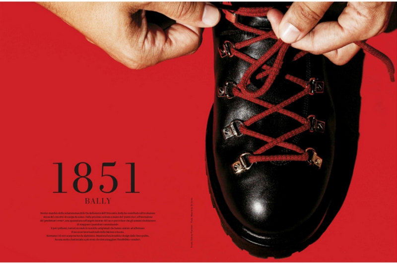 BALLY SHOES FOR L'OFFICIEL HOMMES