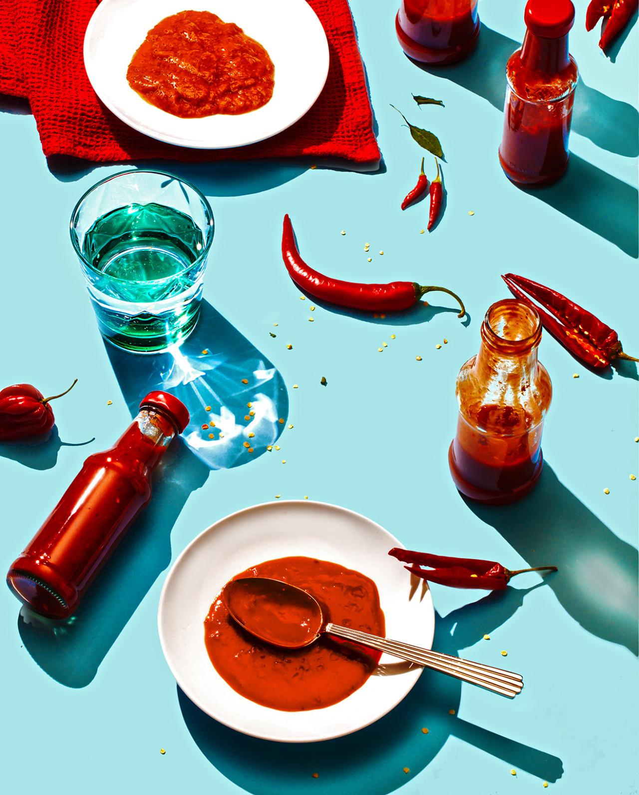 """HOT SAUCE, USA""  FOR FAST COMPANY (October 2015)"