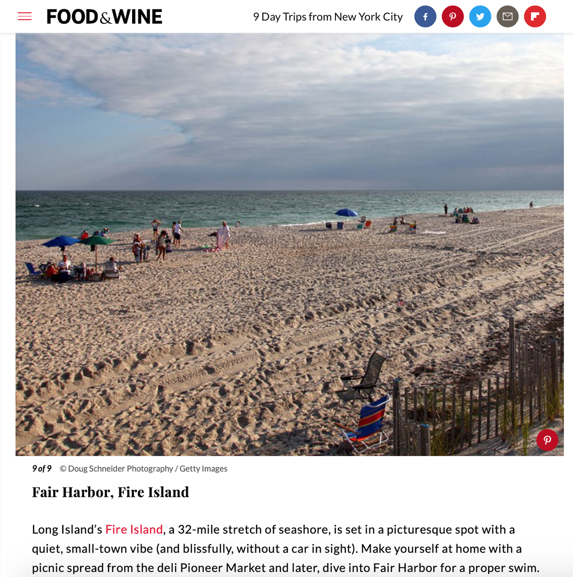 FOOD & WINE SUMMER 2018
