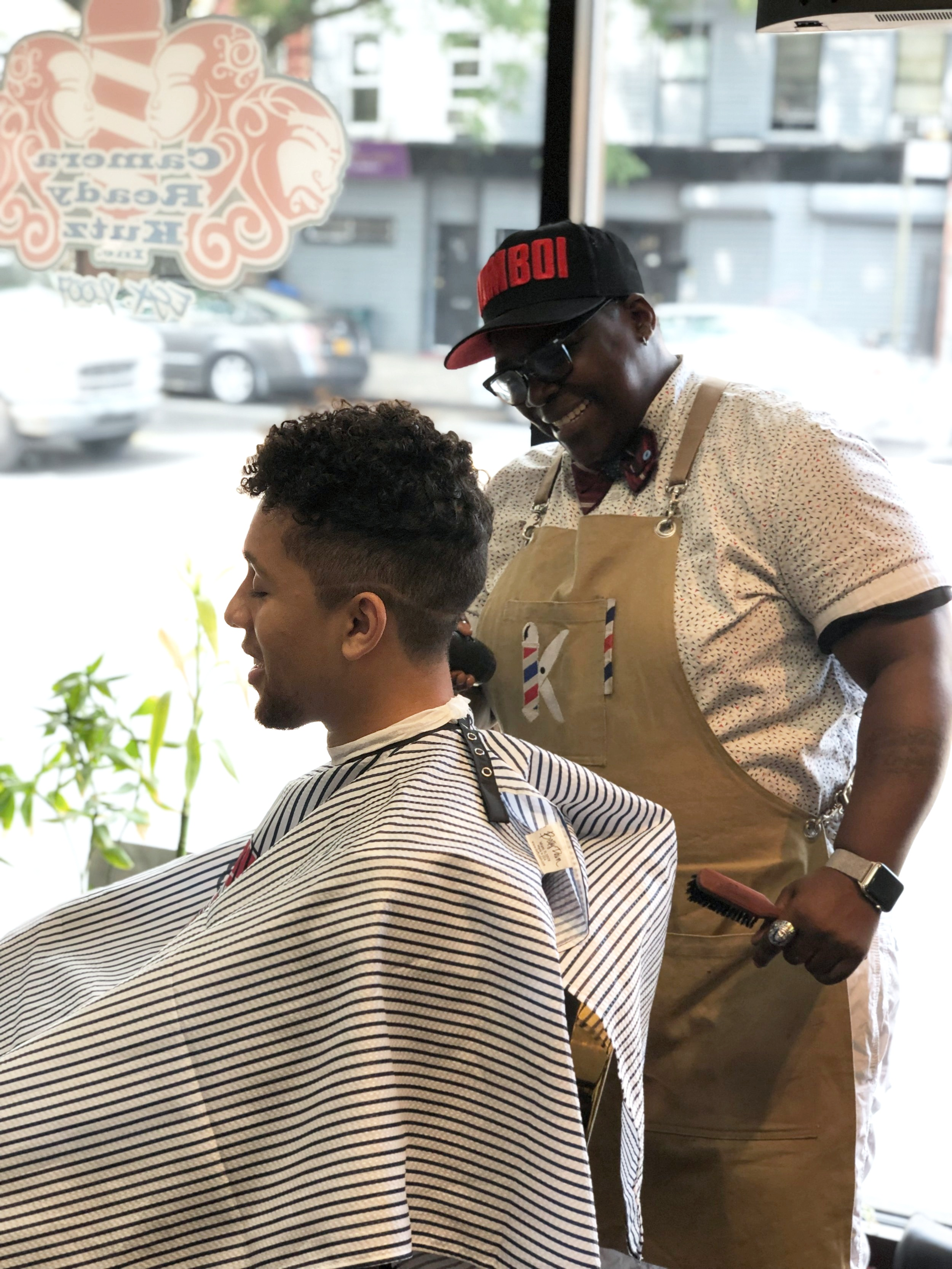 Khane Kutzwell: Owner | Celebrity Master Barber: 12yrs | Loctician