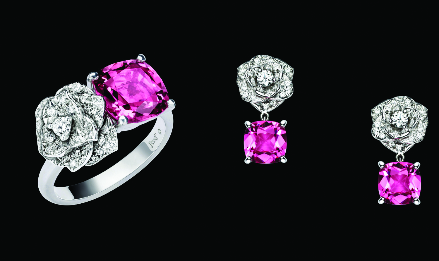Some of the Piaget rose collection. Image courtesy of Piaget.com
