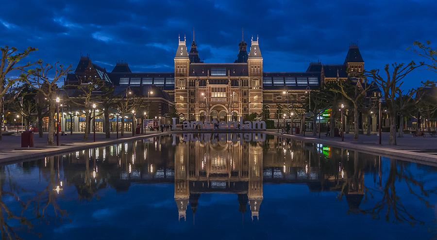 The Rijks Museum. Image: Lewis Marshall