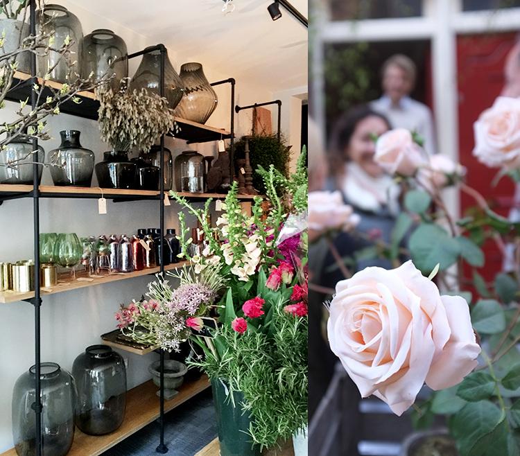 A.P Bloem Florist Flowers Amsterdam Kerkstraat Bloemist Bloemenwinkel Opening new store homewares vase