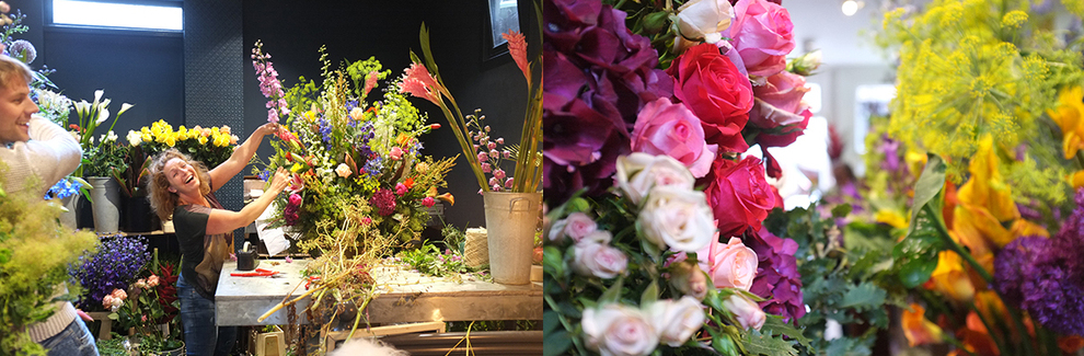 Internship intern stagiaire amsterdam florist jobs A.P Bloem Amsterdam