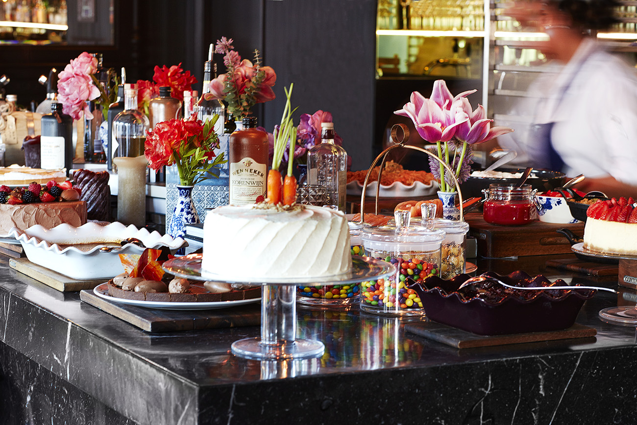 Sunday brunch at The Andaz Amsterdam