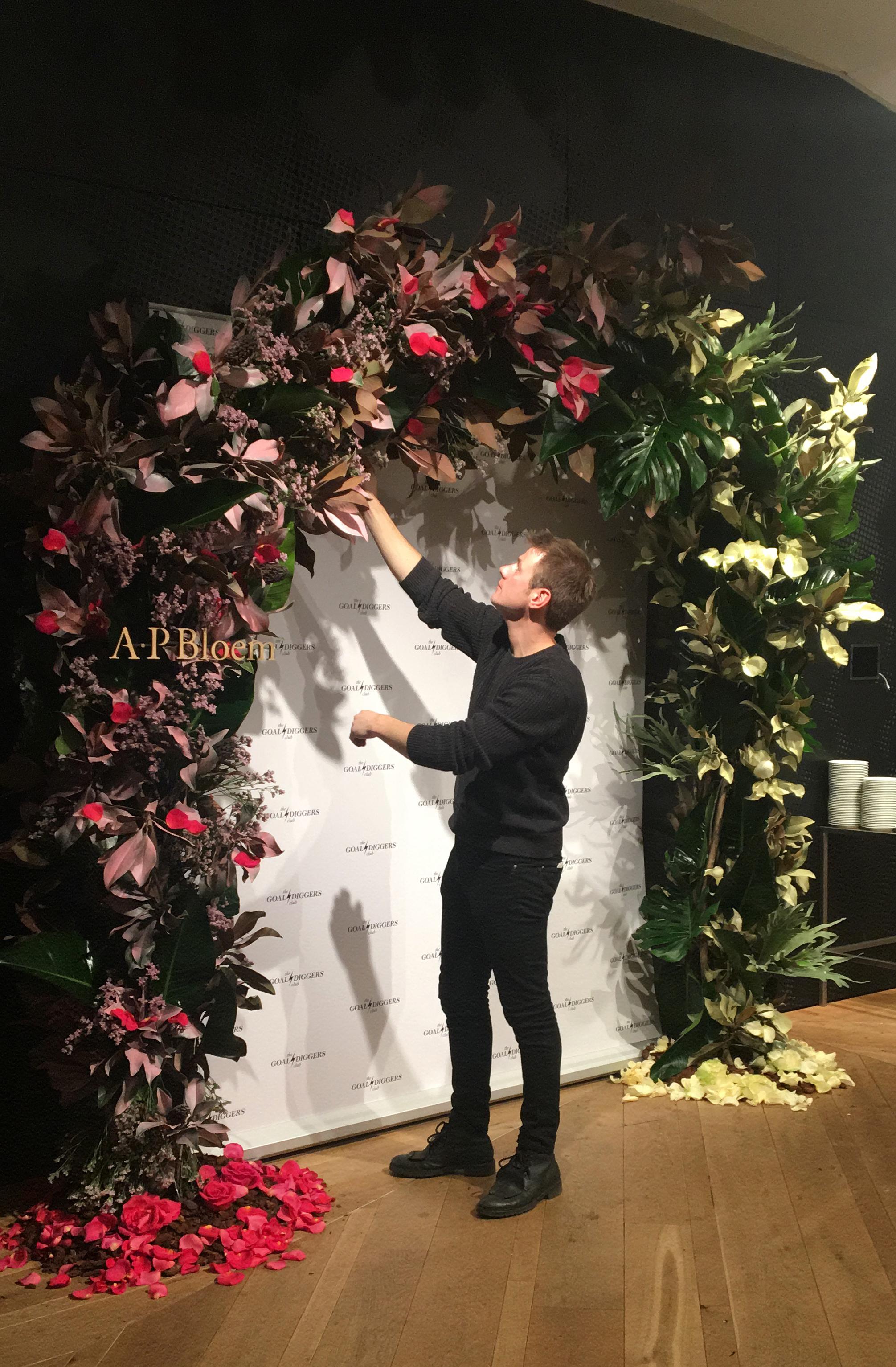 A.P Bloem florist bloemist Kerkstraat bloemen