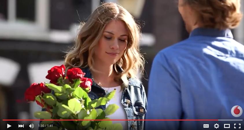 A.P Bloem Florist Bloemist Amsterdam favourite florists amsterdam Kerkstraat bloemenwinkel flower shop Vodafone Advertisement