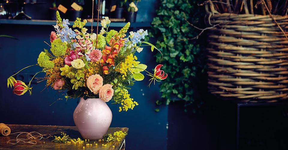A.P Bloem Florist Bloemist Amsterdam favourite florists amsterdam Kerkstraat bloemenwinkel flower shop Villeroy & Boch Interview best florists