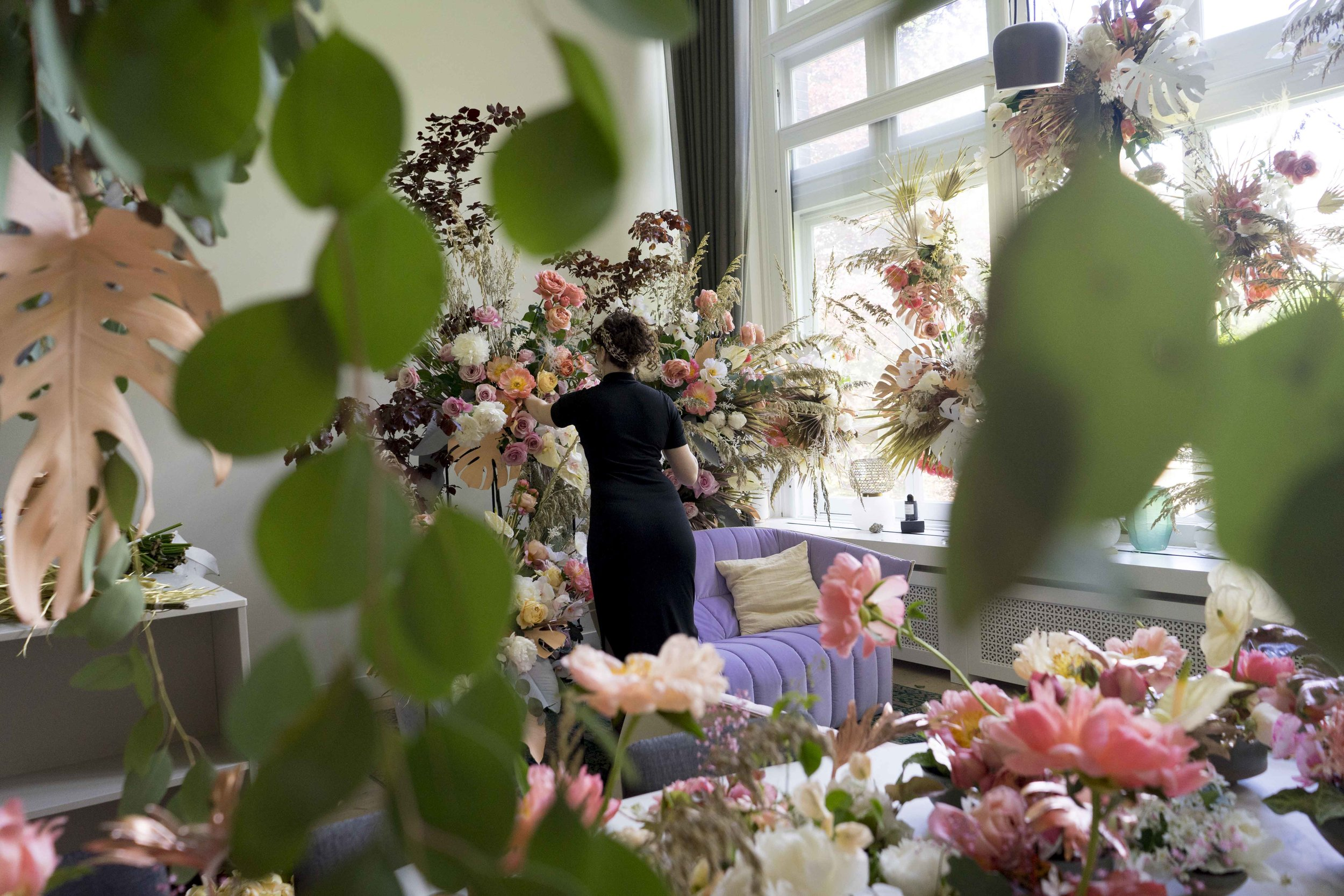 #apbloem #florist #bloemist #amsterdam #bloemen #kerkstraat #trouwen #event #love #liefde #bloemen #flowers #wedding #bruiloft #dscolor #dsfloral #weddingstyling #peony
