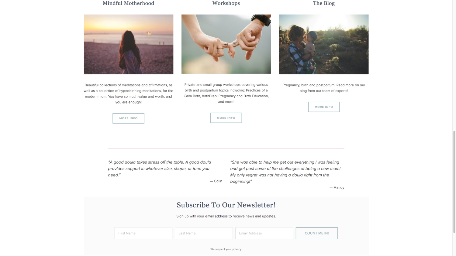 Sweet Stella's New Website   Squarespace Design   Designed by Tiffany Kuehl Designs