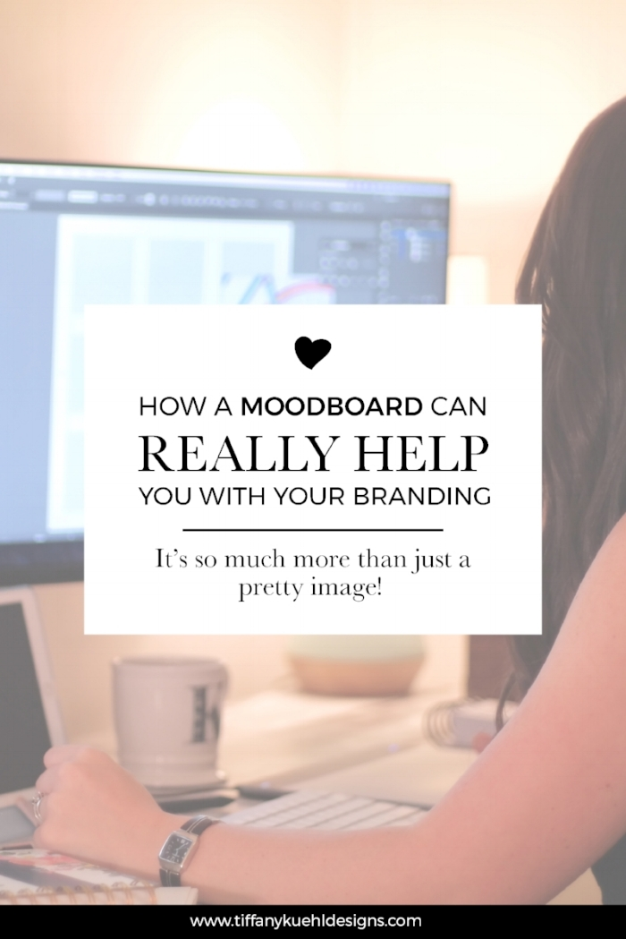 How A Moodboard Can Really Help With Your Branding | A moodboard is so much more than just a pretty image! It can help you walk through your brand clarity process and be a visual inspiration as you work on your branding components!