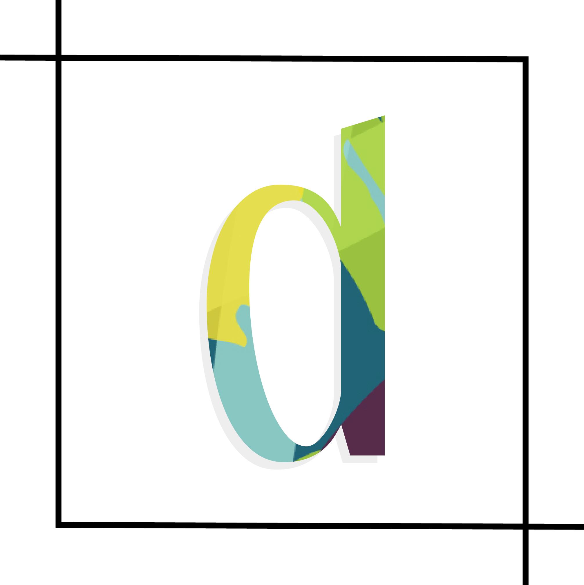 Dotson Course Design Submark #1 | Tiffany Kuehl Designs  #coursedesign #coursecreation #branding #logo #logodesign #brandstylist #branddesigner