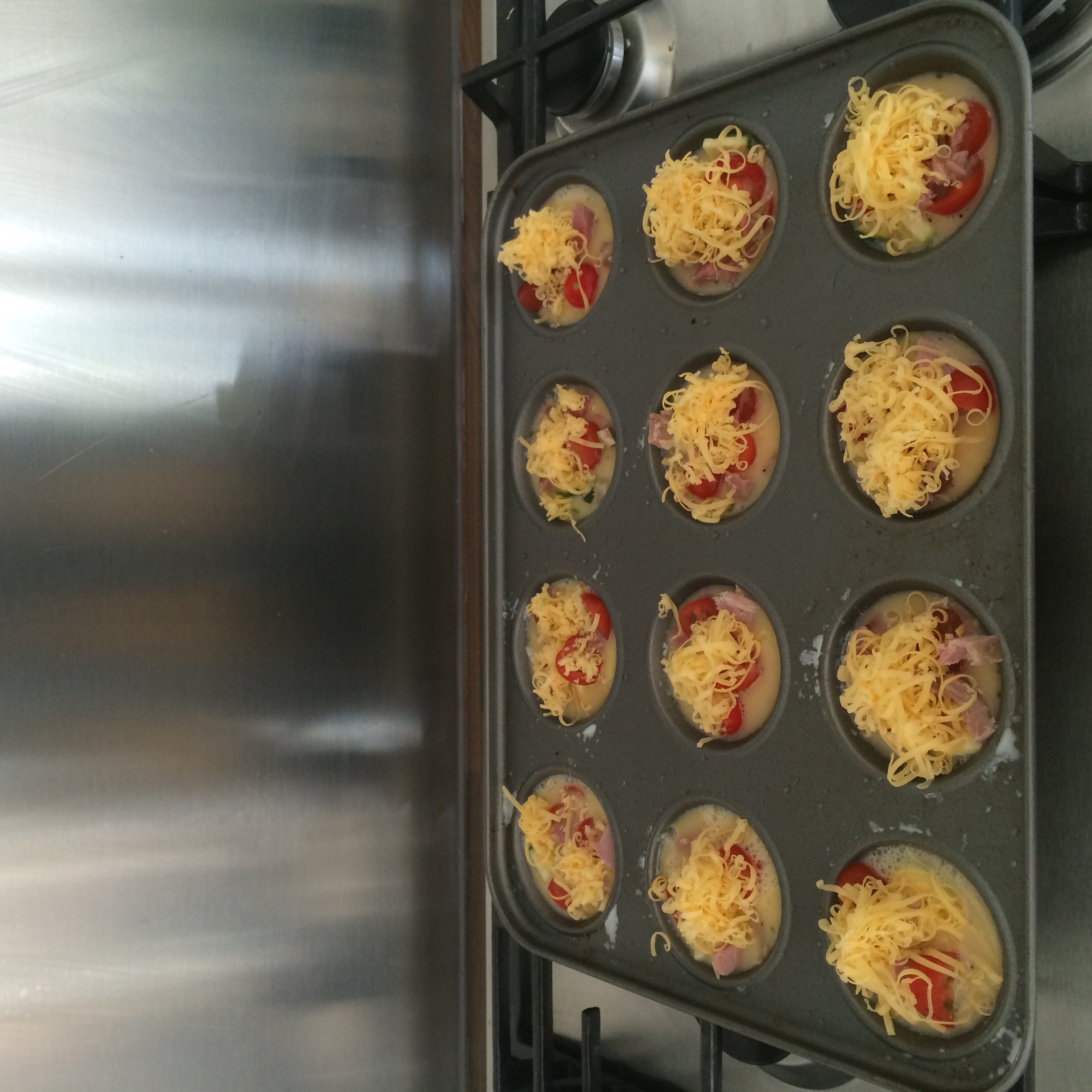 12 Mini Quiches-to-be