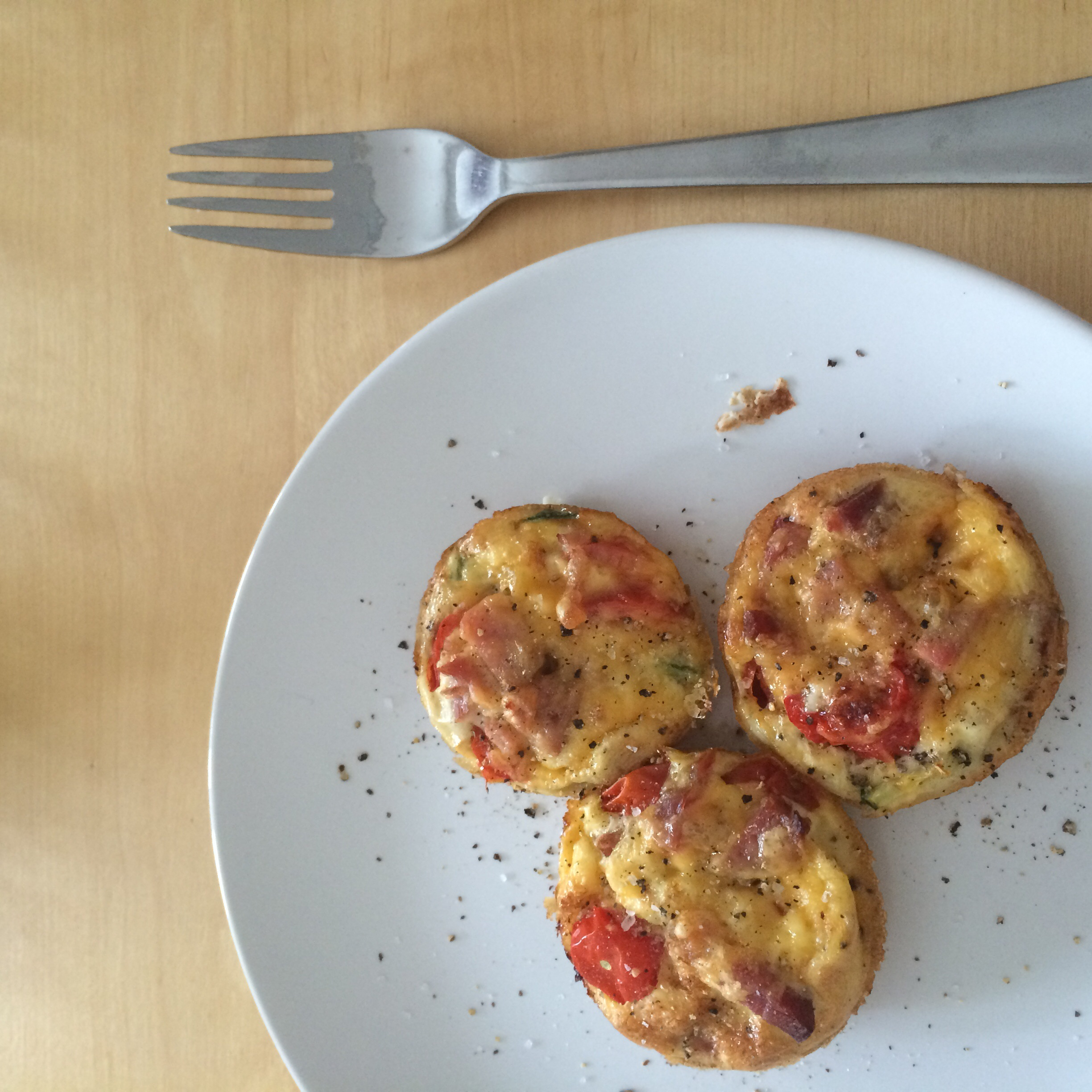 3 Crustless Mini Breakfast Quiches