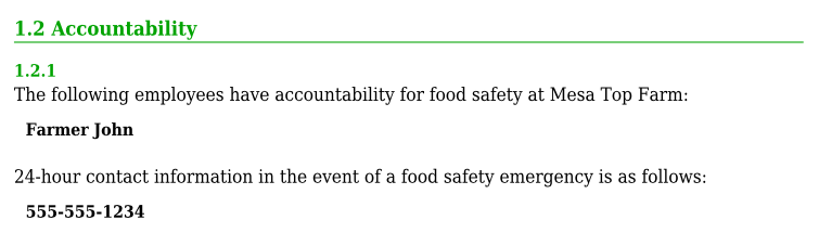 http://onfarmfoodsafety.org/wp-content/uploads/On-Farm-Food-Safety-Plan-SAMPLE.pdf